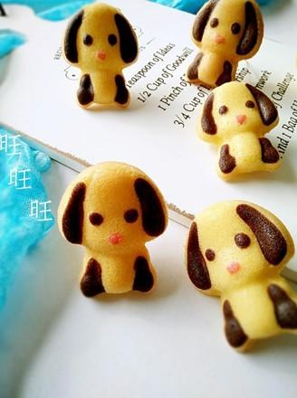 小狗连模蛋糕